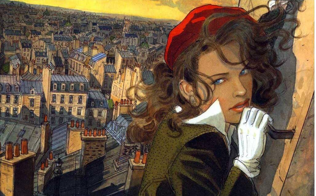 Le vol du corbeau by Jean-Pierre Gibrat on artnet