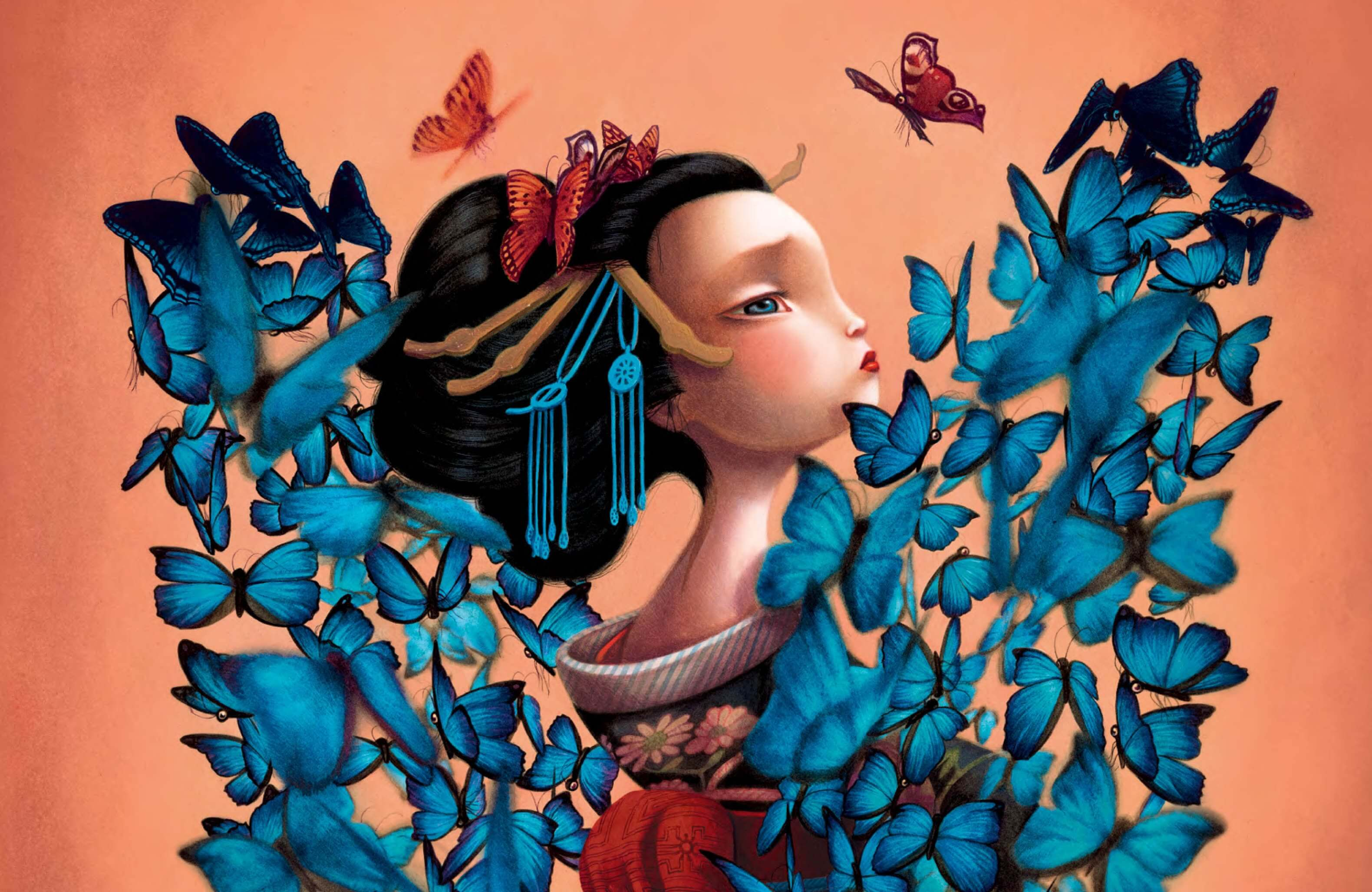 """Madame Butterfly: """"Madame Butterfly"""" De Benjamin Lacombe"""