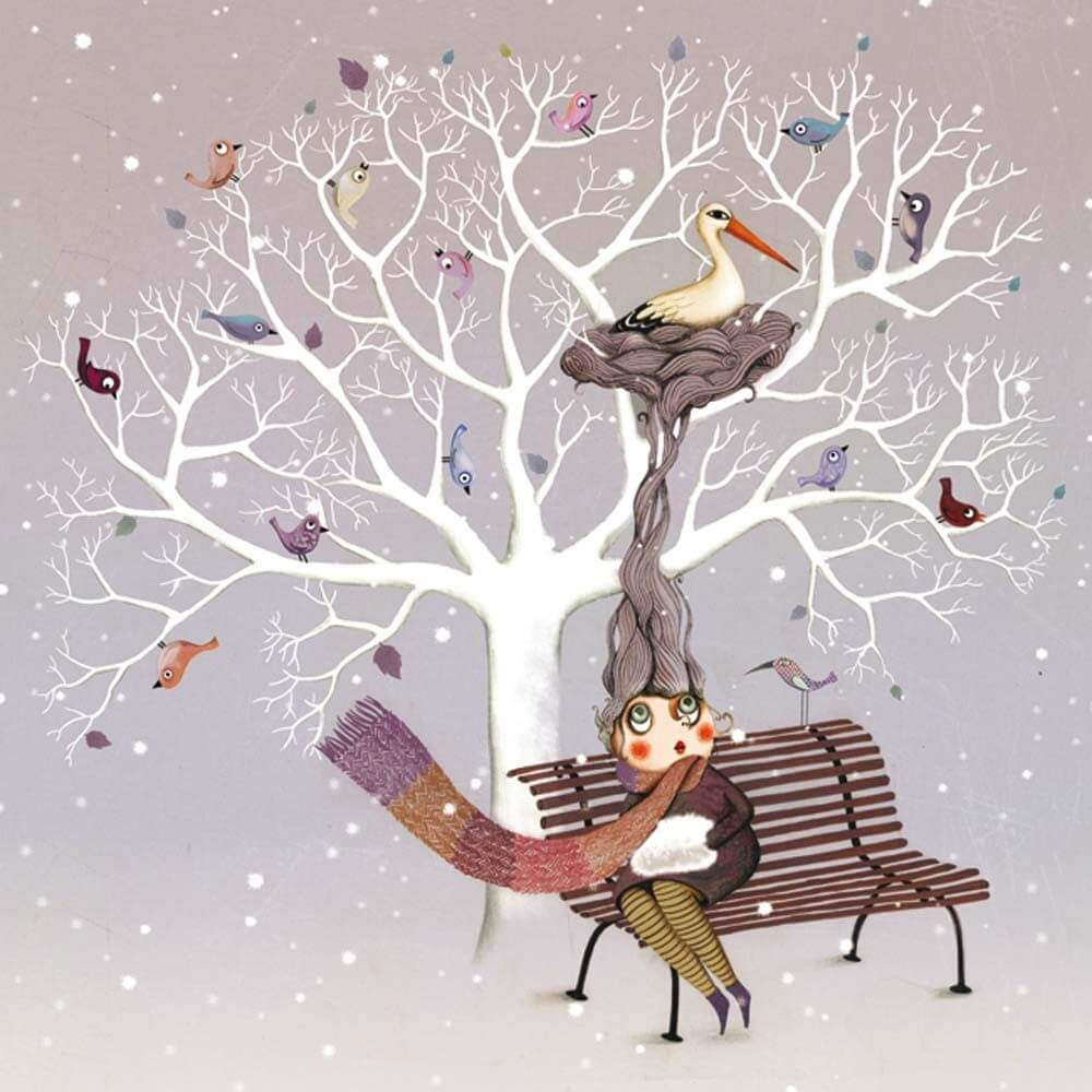 marie desbons carte-postale-hiver-marie-desbons