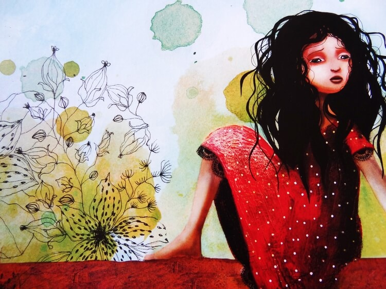 Lucia petite danseuse de flamenco