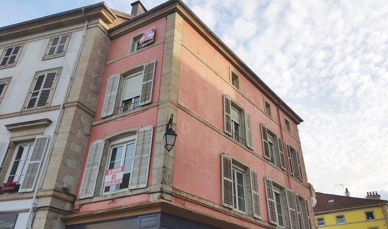 Epinal façades 2