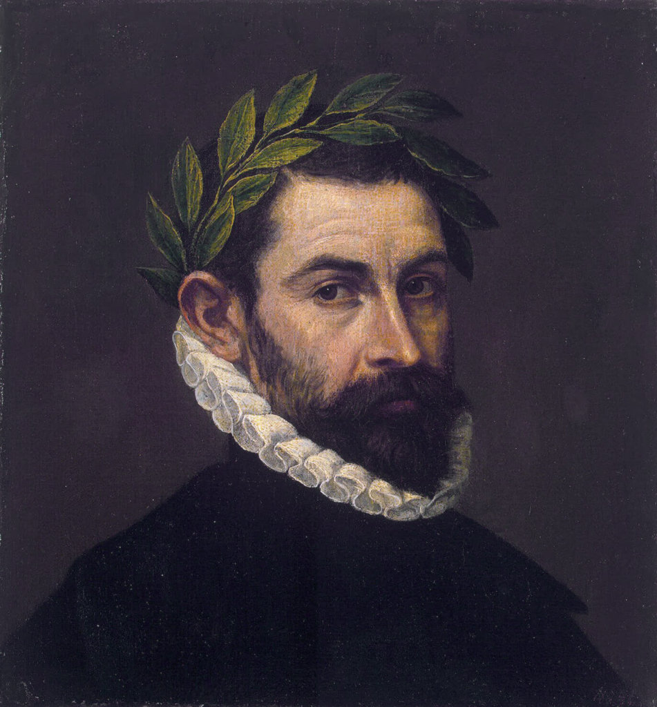 Alonso Ercilla y Zuniga *oil on canvas *44.3 x 41.5 cm *between 1576/1578