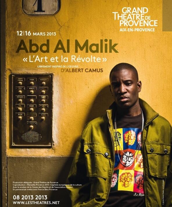 L'art et la révolte Abd Al Malik