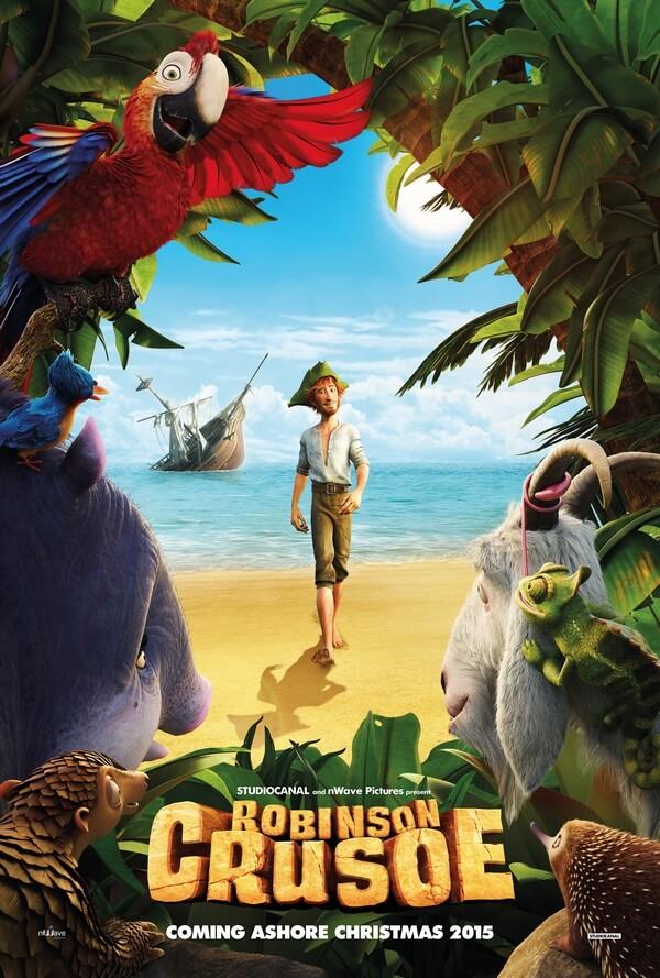 Robinson Crusoe affiche