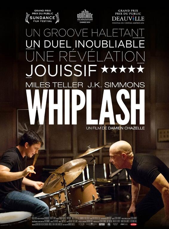 Whiplash affiche film