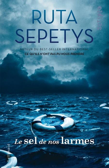 Le sel de nos larmes Ruta Sepetys couverture