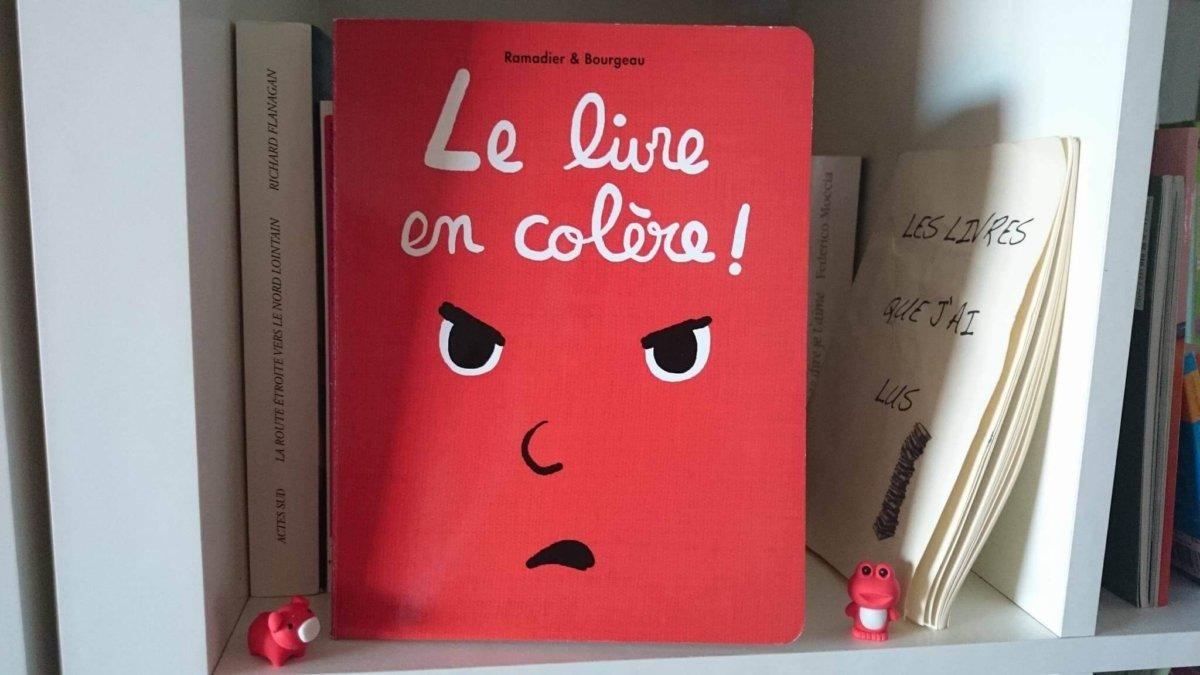 Le livre en colère couverture