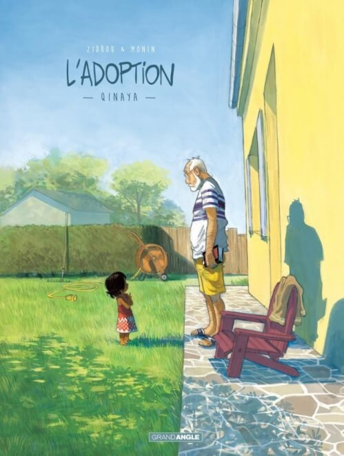 L'adoption Zidrou Monin