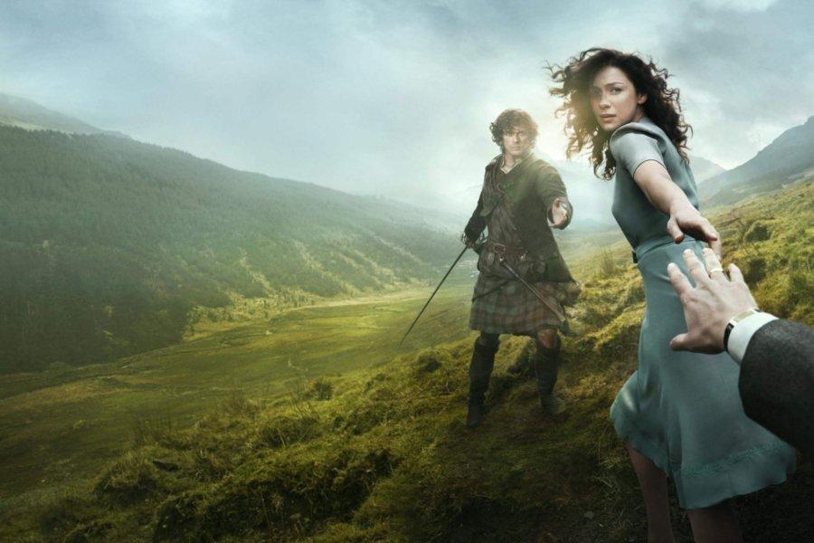 Outlander série Netflix une