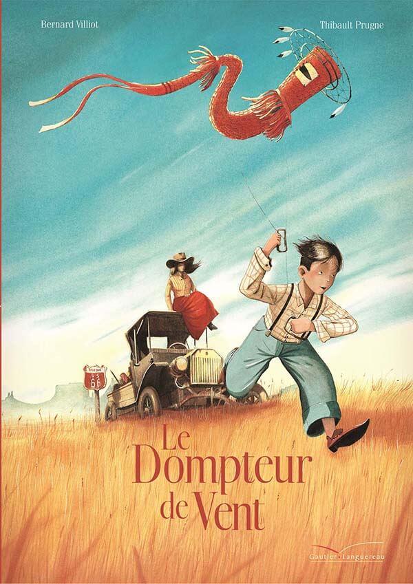 Le dompteur de vent Prugne Villiot gautier-languereau