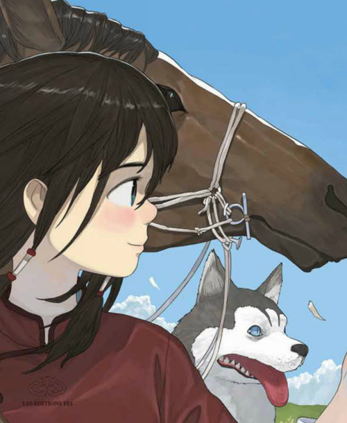 Kushi 1. Le lac sacré – Marty & Zhao